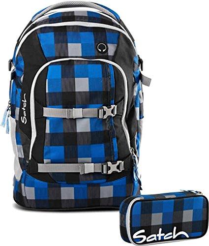 Satch Schulrucksack-Set 2-TLG Pack Airtwist Blau