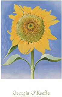 georgia o keeffe sunflower