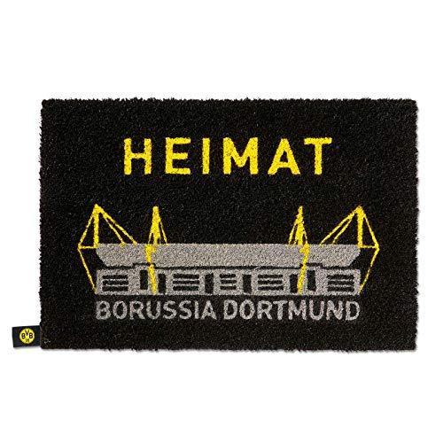 Borussia Dortmund, BVB-Fußmatte, Mehrfarbig, 0