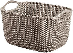 Curver 8lt Rectangular Knit Basket