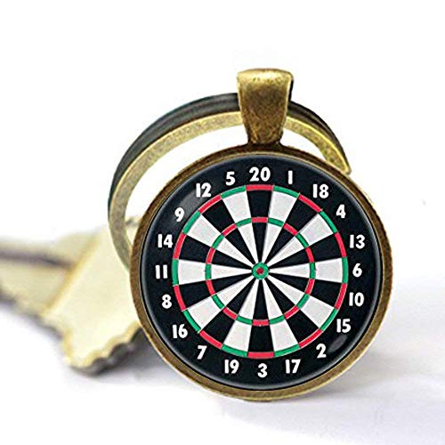 Dart Schlüsselanhänger, Dart Schlüsselanhänger, Dartscheibe Schmuck, Sport Geschenk, Dartscheibe Schlüsselanhänger, Dartscheibe Anhänger, Dart Schmuck, Dart Target