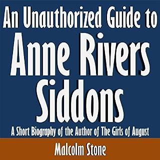 Page de couverture de An Unauthorized Guide to Anne Rivers Siddons