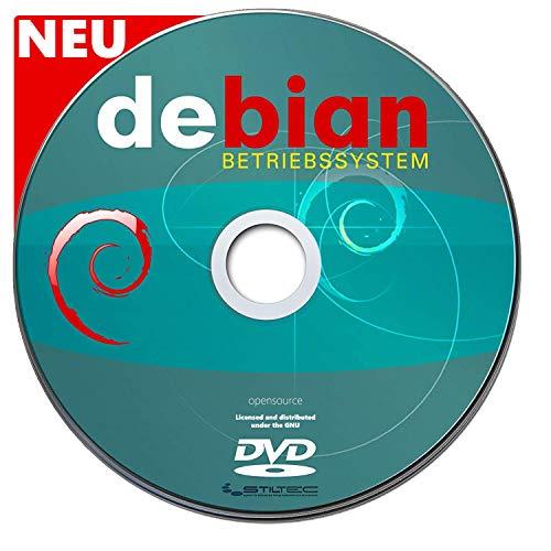 Betriebssystem DEBIAN LINUX für PC & Notebook NEU auf DVD 32 oder 64 Bit Vollständiges und Vollwertiges BETRIEBSSYSTEM ! NEUWARE