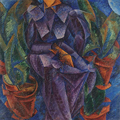 Berkin Arts Umberto Boccioni Giclee Print On Canvas-Famous Paintings Fine Art Poster-Reproduction Wall Decor(Spiral Construction) #XFB