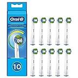 Oral-B Precision Clean Cabezales de recambio con tecnología CleanMaximiser, tamaño de buzón, Pack de10