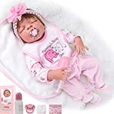 23' Full Body Silicone Vinyl Reborn Doll Lifelike Anatomically Correct Baby Girl Doll