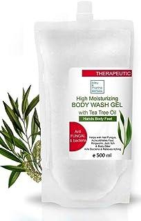 bleu&marine Bretania Gel Natural de Aloe Vera Refrescante & Hidratante Rostro Cuerpo con Aceite Esencial de Árbol de Té P...