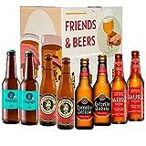 Pack de cervezas degustación - Caja Sin GLUTEN: La Virgen, Estrella Galicia, Espiga y Damm Daura. I La mejor selección de cervezas para regalar y disfrutar.