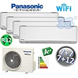 Climatisation mural multi 4x split A++ 2+2+2+3,5 kw PANASONIC DELUXE R32