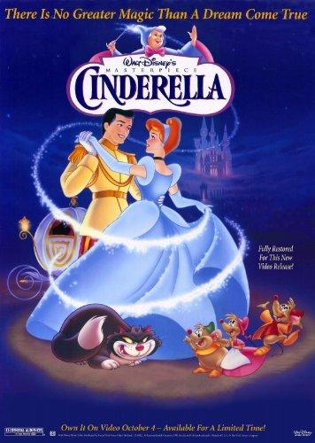 Pop Culture Graphics Cinderella Poster Movie 11x17 Ilene Woods Eleanor Audley Verna Felton Claire Du Brey
