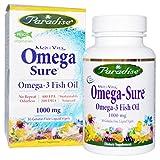 Paradise Herbs MedVita Omega-Sure Fish Oil, 30 Vegetarian Capsules