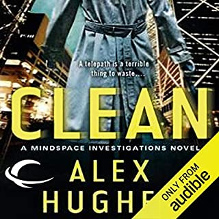 Clean audiobook cover art