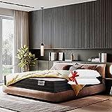 Lisabed Flex | Matelas Ito-Flex 160 x 200 cm | Ressorts Ensachés | Viscoélastique Air/Mousse Mémoire De Forme Haute densité | Indépendance Couchage | Gamme Prestige Hotel | 27 cm (+/- 2 cm)