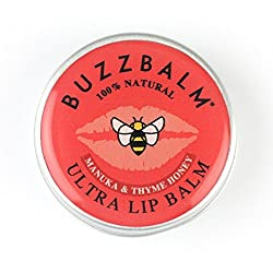 Natural Lip Balm 100%, Organic Lip Balm 85% , Not Tested on Animals Lip Balms Free From Additives and Chemicals Unfragranced & Naturally Scented Chapped Lips Treatment Lip Wax contains Propolis & Royal Jelly for Active Skin Recovery a suitable Lip Ba...