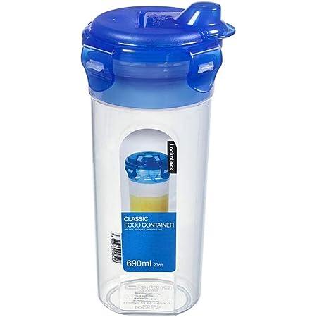 Lock & Lock HPL 934HC spécifique Shaker gradué avec mixeur 690 ml Etanche à 100% air et liquide