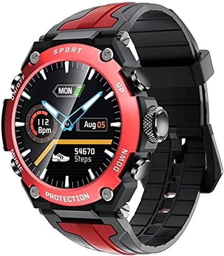 wyingj Hombres s Reloj Inteligente Bluetooth Música Altitud Buceo Reloj IP68 Impermeable Fitness Deportes Reloj Tiempo al aire libre Reloj Inteligente