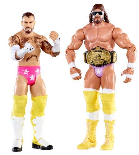 WWE Battle Pack: Randy Savage vs. CM Punk Figure 2-Pack Series 14