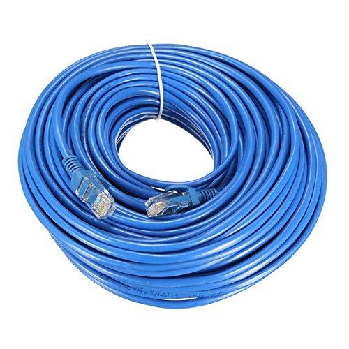 Tutoy 25m Blue Cat5 65FT RJ45 Ethernet kabel Voor Cat5e Cat5 RJ45 Internet Network LAN Kabel Aansluiting