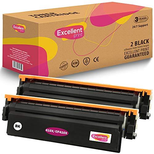 Excellent Print 410X CF410X CF411X CF412X CF413X Compatible Cartucho de Toner para HP Color Laserjet Pro M477fdw M477fdn M477fnw M452dn M452dw M452nw M377dw