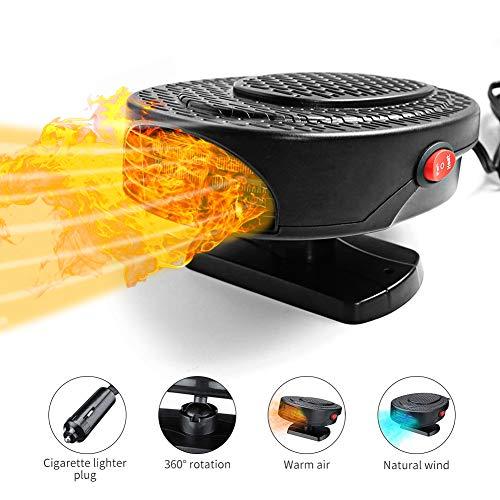 Upstartech - Ventilador Calefactor para Coche 12 V