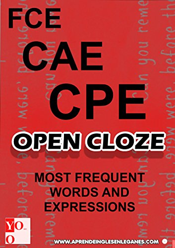 FCE CAE CPE - OPEN CLOZE - MOST COMMON WORDS and EXPRESSIONS...