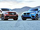 2015 BMW X6 M vs. 2016 Mercedes-AMG GLE63 S Coupe