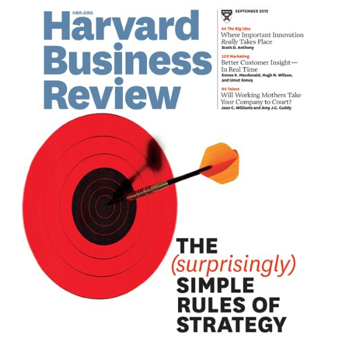 Harvard Business Review, September 2012 audiobook cover art