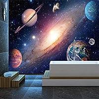 カスタム宇宙星空写真壁画壁紙リビングルームテレビソファテーマホテル室内装飾壁紙3D用-150x120cm