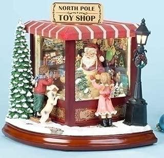 Roman Santa's North Pole Music Box