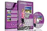 Promenades Virtuelles - Champs de Lavande France pour exercices d'intérieur tapis roulant et vélo d'appartement