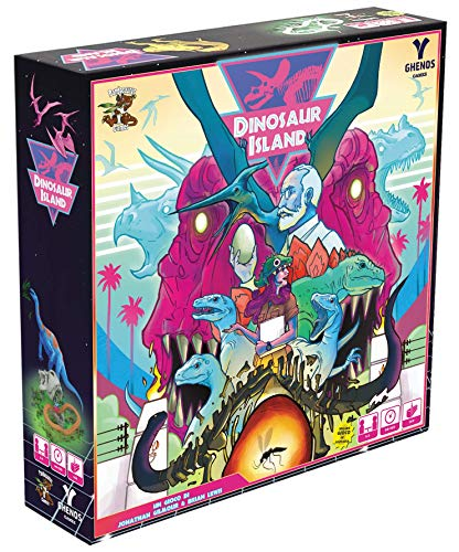Ghenos Games GHE108 Dinosaur Island