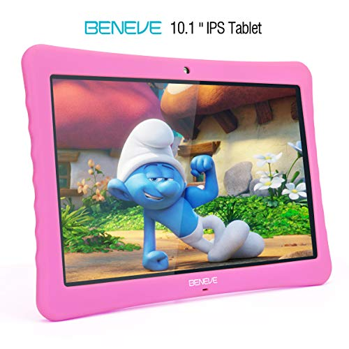 BOGO! 10 inch Kid Tablet, 1080p Full HD Display Android 7.0,2GB+32 GB,Dual Camera Front 2MP+ Rear 5MP,Bluetooth and WiFi w/Kid-Proof Case …