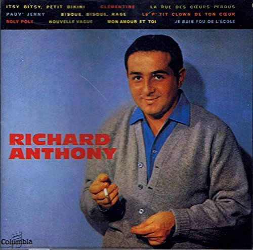 RICHARD ANTHONY: best of (reedition de 1987)