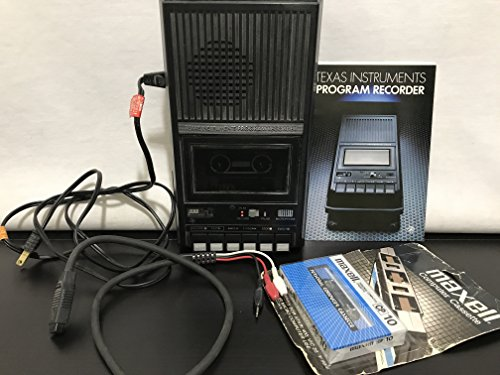 Texas Instruments, Inc. Texas Instruments Program Recorder Model No. Php 2700 Cassette Tape Recorder Player for Texas Instruments 99/4a Computer Game Systemfcc Id:a929w8php2700---4 C Size Batteries 120 Vac 50-60 Hz 5w Input
