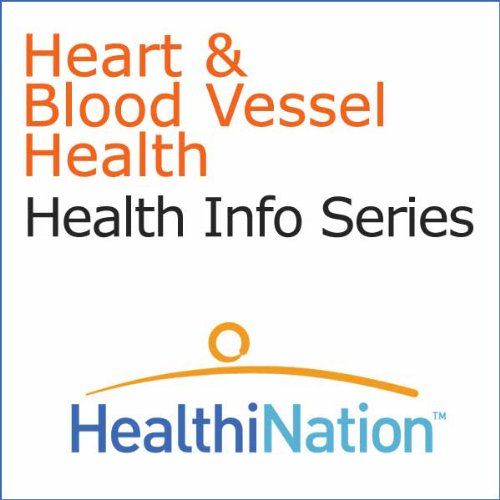 Heart and Blood Vessel Health audiobook cover art
