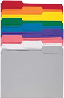 Staples Secure Colored File Folders Letter 3 Tab Center Position 50//Box 682578
