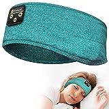 Sleep Headphones, Perytong Bluetooth Sleeping Headphones Headband Soft Elastic Comfortable Bluetooth Headband,Cool Tech Gadgets Sleeping Gifts Guide for Men Women