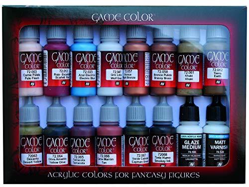 Vallejo Game Color Set 72297 Specialist (16)