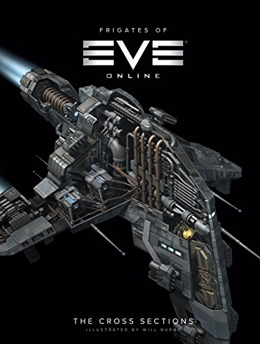 The Frigates of EVE Online: The Cross Sections [Idioma Inglés]