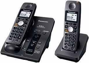Panasonic KX-TG6052B 5.8 GHz FHSS Expandable Digital Cordless Phone System with 2 Handsets