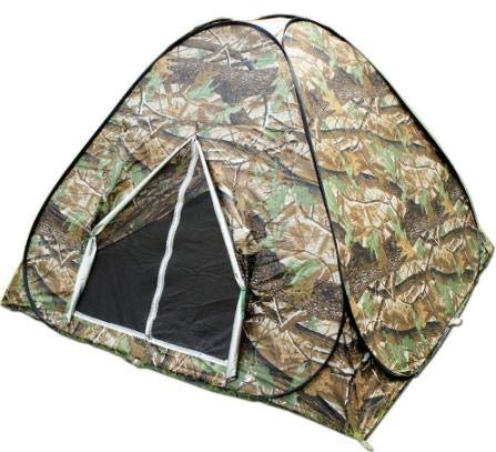 WFFF Camouflage 3-4 Person Watching Bird Hunting Toilet Dressing Pop Up Portable UV Hiking Travel Outdoor Camping Tent