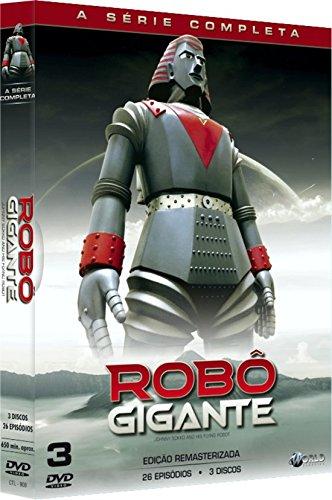 Robô Gigante - A Série Completa Digibook 3 Discos