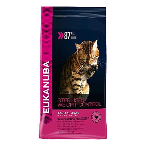 Eukanuba Adult Übergewicht Sterilisiert Katzen 400 GR