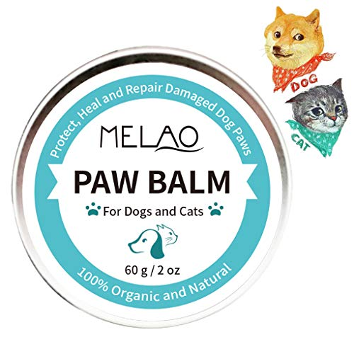 Dog Secret Paw Protector Wax - Bálsamo para mascotas y nariz perros Crema Protección pies Gatos Tratamiento de nariz reparaciones Garra nariz agrietadas y secas con 100% ingredientes naturales