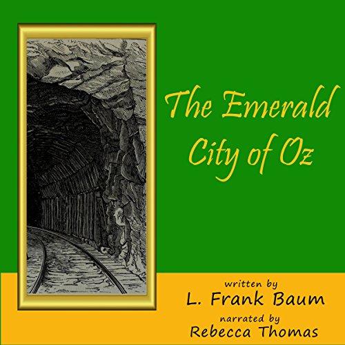 Page de couverture de The Emerald City of Oz