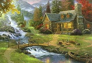 Ceaco Thomas Kinkade - Mountain Paradise Puzzle - 1000 Pieces