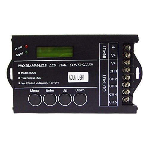 AquaLight LED Time Control 5-Kanal-DimmControler