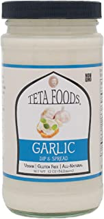 Mediterranean Garlic Dip & Spread 12 oz (1)