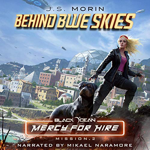Behind Blue Skies: Mission 2 audiobook cover art