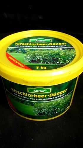 3kg Kirschlorbeer Dünger auch für andere Blattgehölze geeignet
